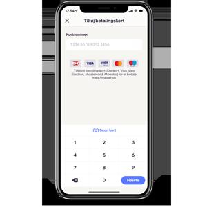 mobilepay spærret kort