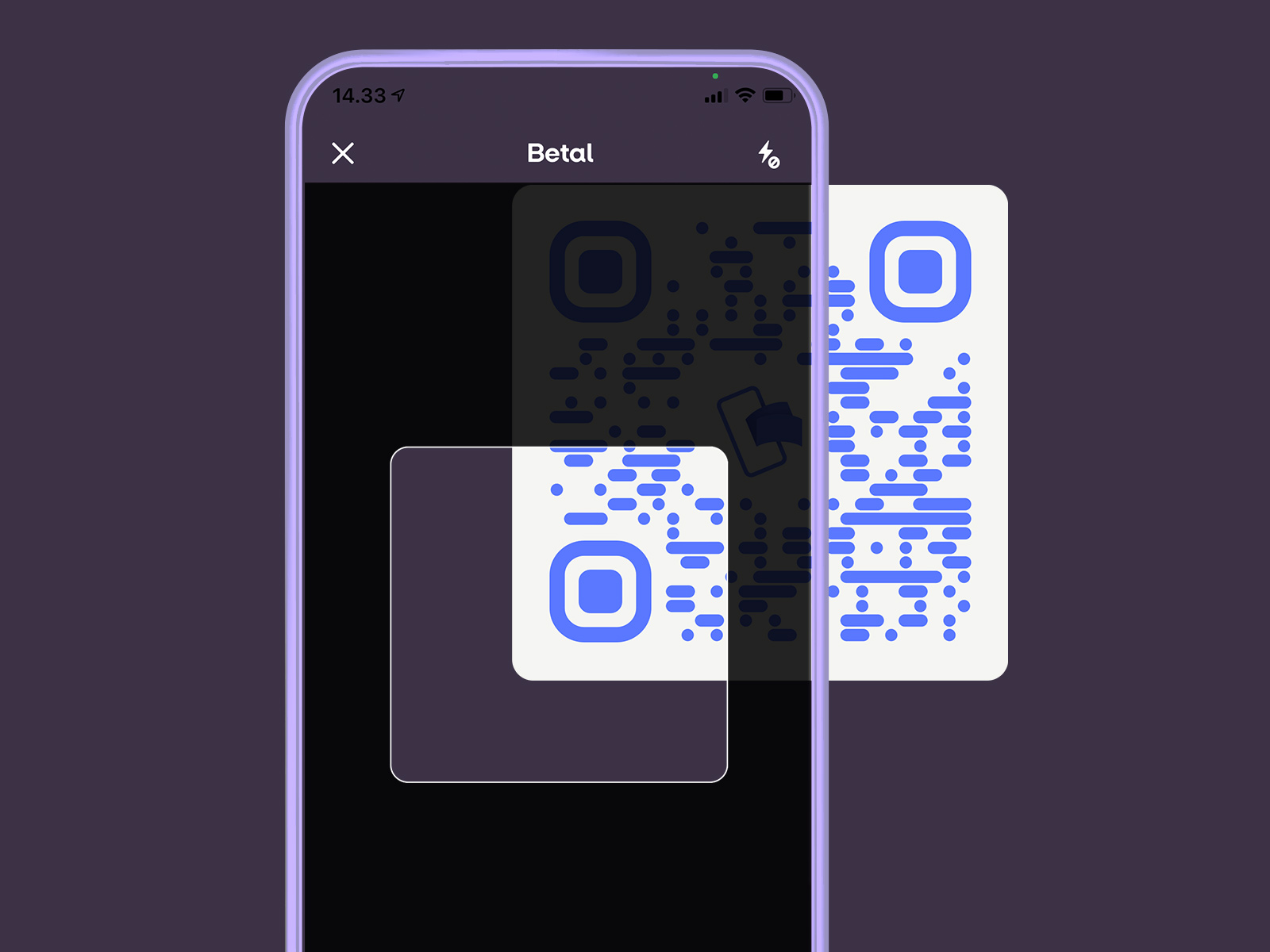 MobilePay Point of Sale via QR-koder